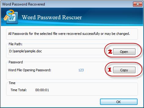 Get Word Document Password Back