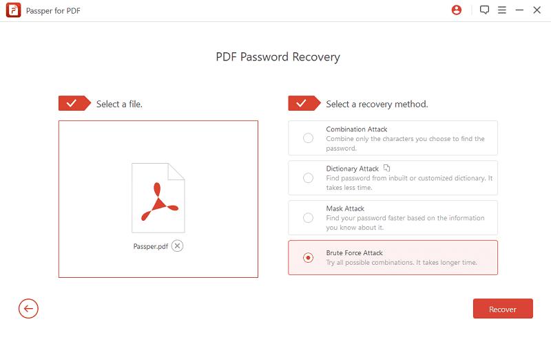 Passper for PDF - best PDF password remover software