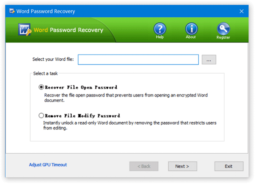 Top Password Word password recovery