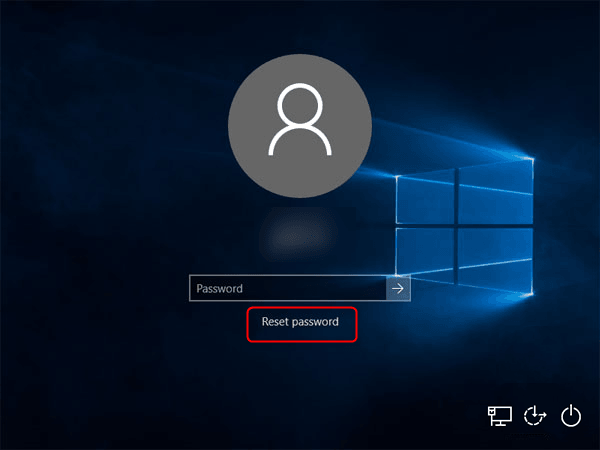 Reset Asus laptop Password using Password Reset Disk