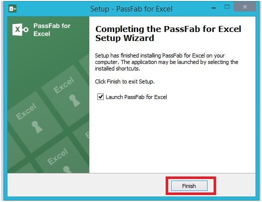 install passfab for Excel