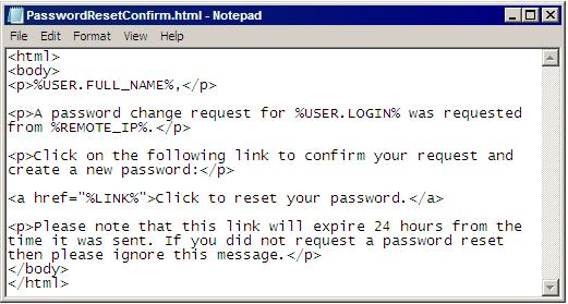 itunes backup password reset on notepad