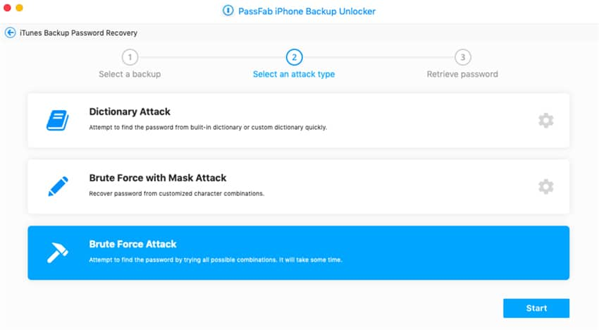 recover encrypted itunes backup password using brute force attack