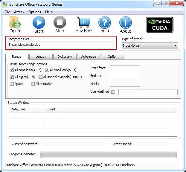 iSunshare Office Password Genius