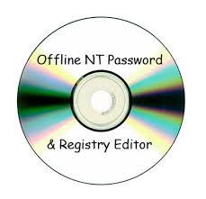 reset windows 7 password with offline nt password and registry editor