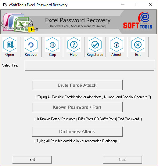 best esofttools excel password recovery
