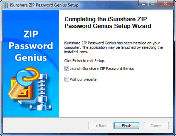 zip password genius install