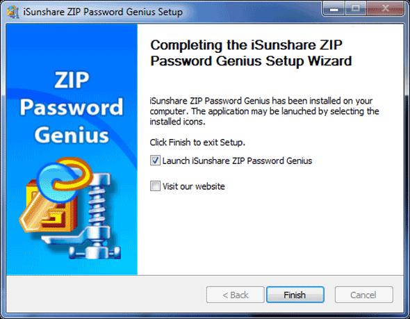 zip password genius install