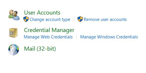 Change account type on HP laptop