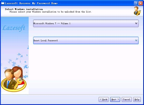 Lazesoft Recover My Password for Windows 10