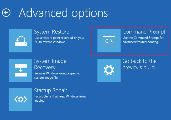 advanced options command prompt