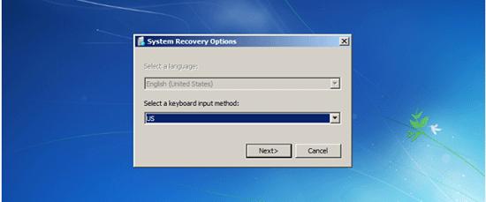 Select keyboard input method in Windows 7