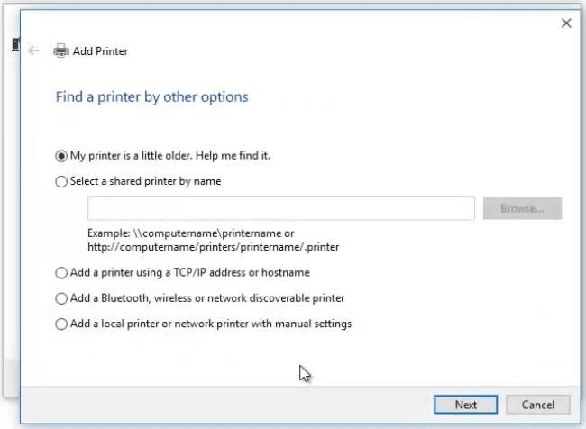 Fix Print to PDF Windows 10 Not Working via The Add Printer window
