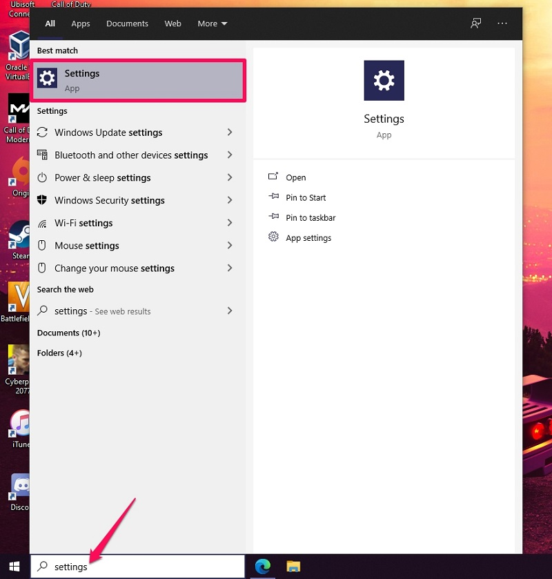 Change Account Type on Windows 10 from Settings