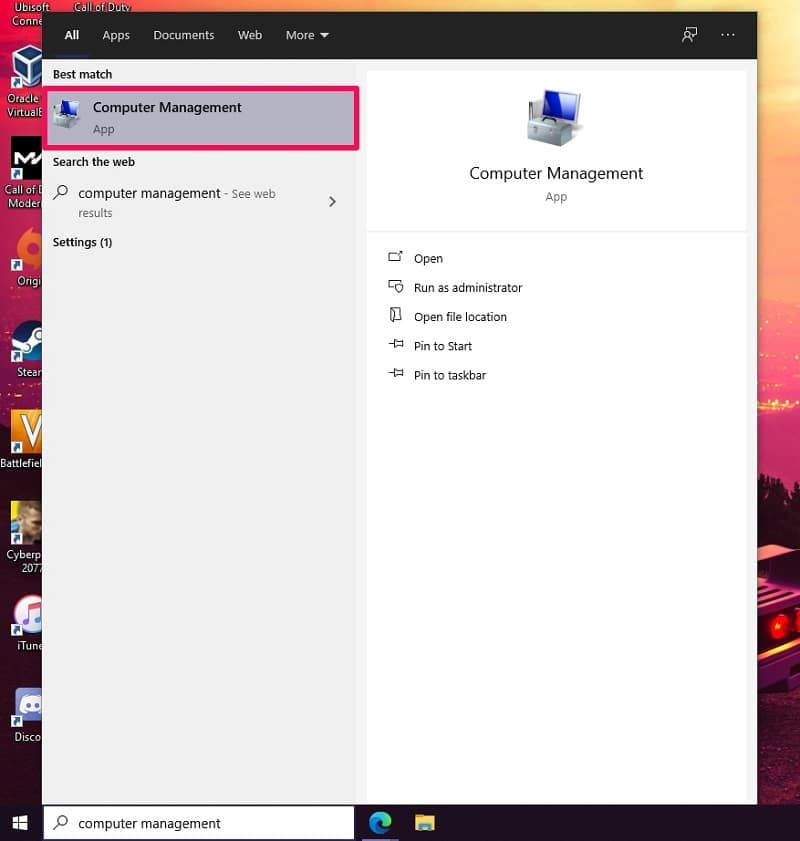 Create a New User Account on Windows 10 from Computer Management