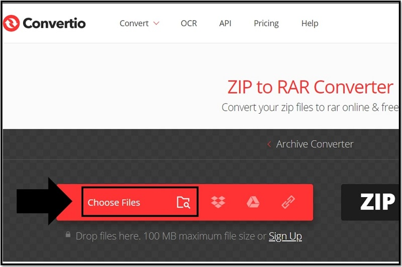 How to Convert ZIP to RAR without WinRAR