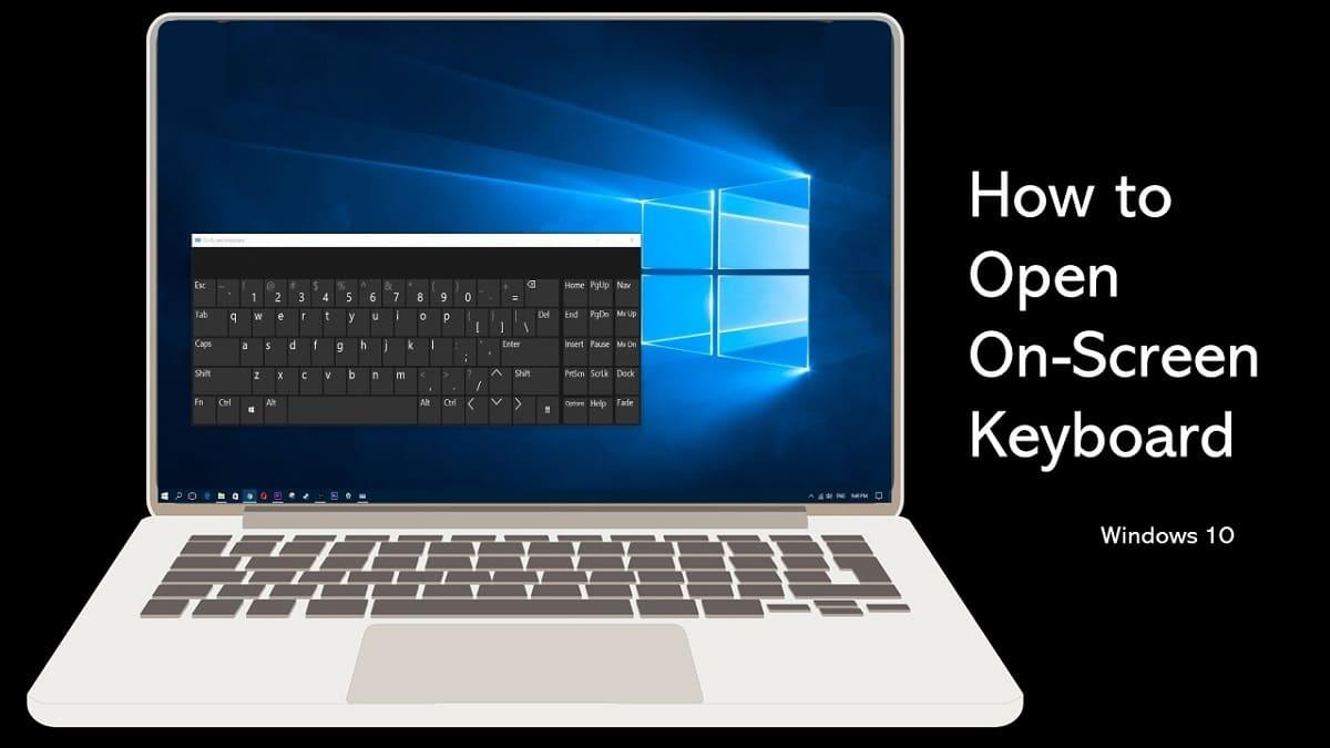 How to Open On-Screen Keyboard in Windows 10