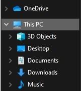 This PC in Windows 10