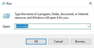Apply MSConfig in Windows 7