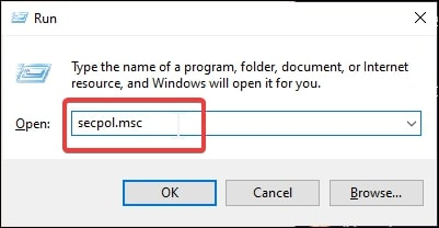 Open Group Policy Editor in Windows 10