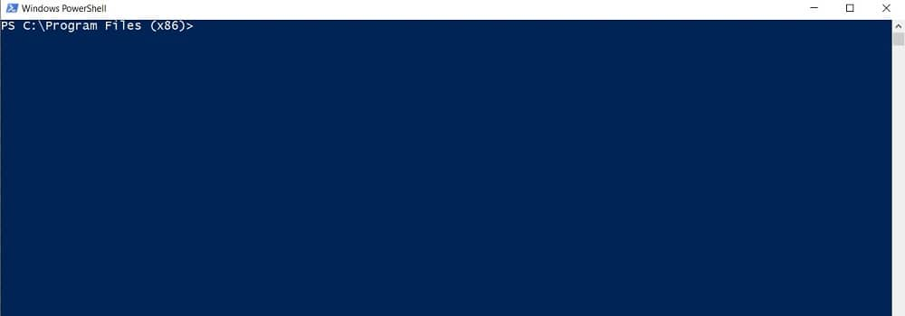 How to Open PowerShell in Windows 10 – Opened from the File Explorer