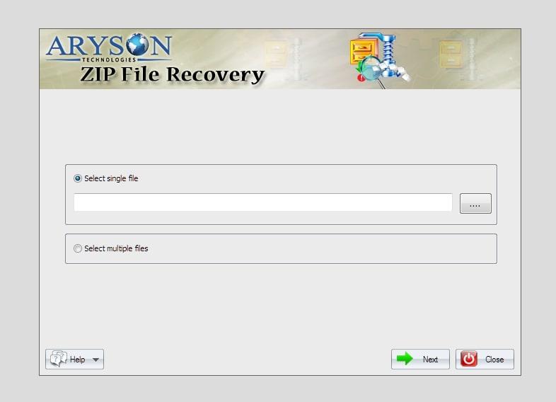 Aryson ZIP File Repair