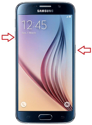 booting a Samsung phone into recovery mode