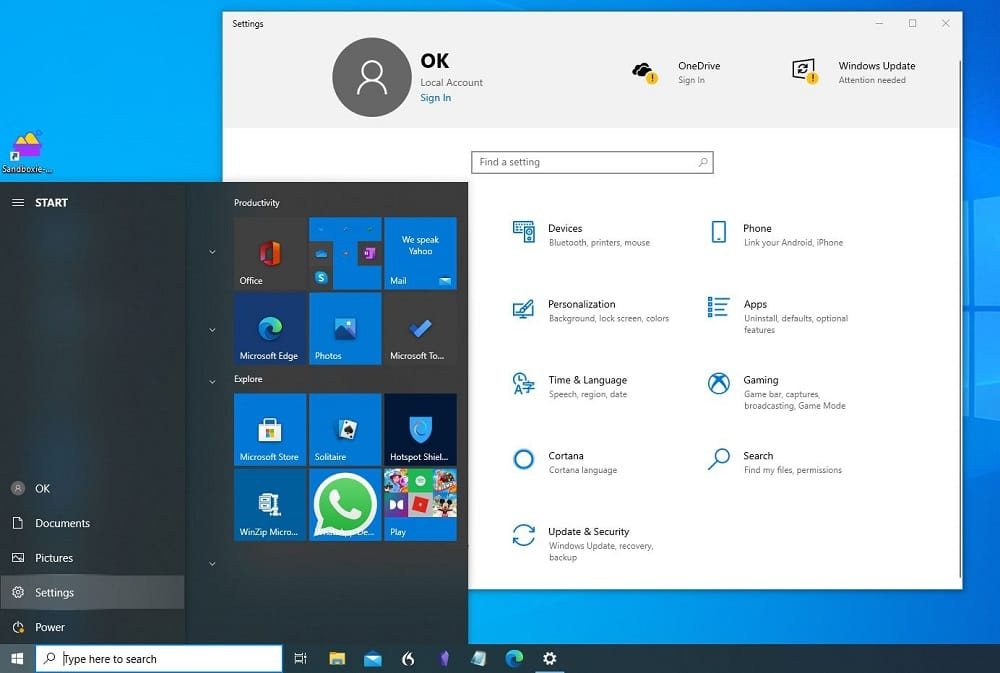 Boot In Safe Mode Windows 10 from Settings