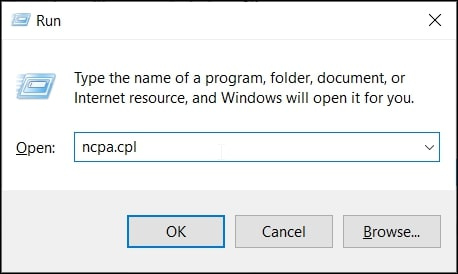 Open Control Panel from cmd in Windows 10