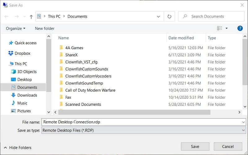 Remote Desktop Connection.rdp
