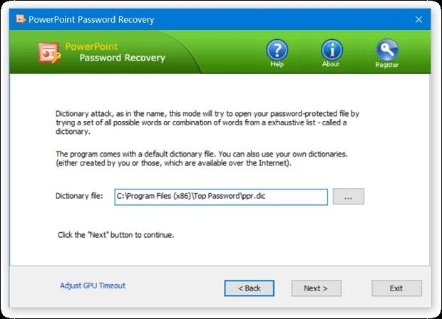Top Password PowerPoint Password Recovery