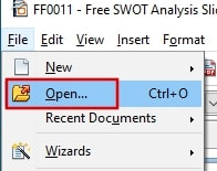 Open PPTX file without PowerPoint using Apache OpenOffice Impress