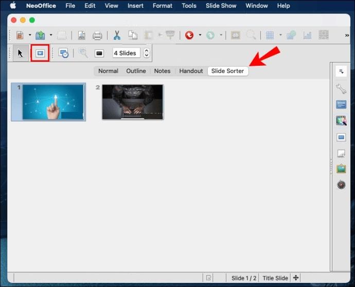 PPTX file in NeoOffice