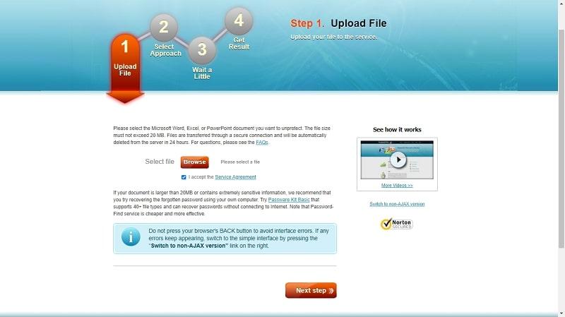 upload PPT file online to unlock